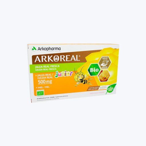 comprar ARKOREAL JALEA REAL FRESCA JUNIOR 500MG 20 AMPOLLAS