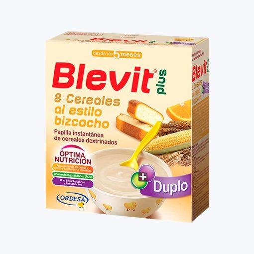 comprar BLEVIT PLUS DUPLO 8 CEREALES BIZCOCHO Y NARANJA