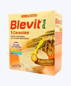 BLEVIT PLUS SUPERFIBRA 5 CEREALES 600 G