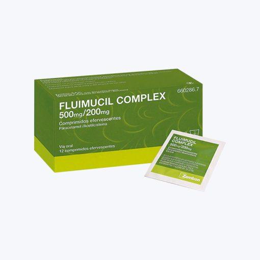 comprar FLUIMUCIL COMPLEX 500 200 MG 12 COMPRIMIDOS EFERVESCENTES