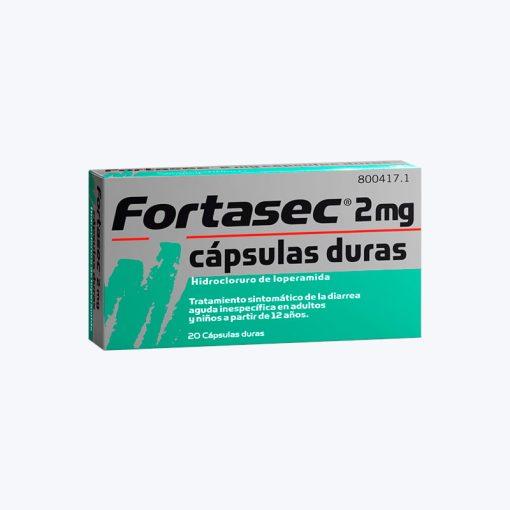 FORTASEC FLAS 2 MG 12 LIOFILIZADOS ORALES