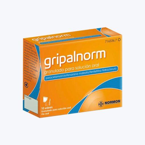 GRIPALNORM 1000/4/10 MG 10 SOBRES GRANULADO SOLUCION ORAL