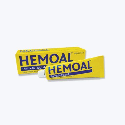 HEMOAL POMADA RECTAL 50 G