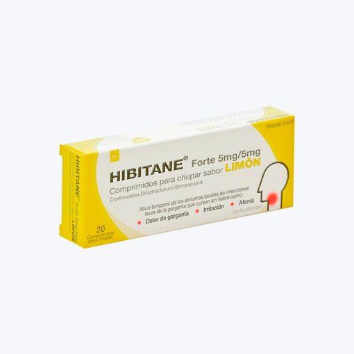 HIBITANE 5/5 MG 20 COMPRIMIDOS PARA CHUPAR LIMON