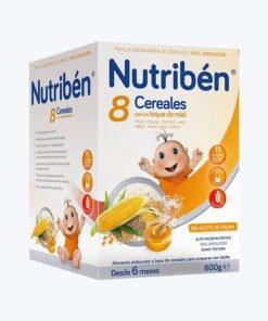 NUTRIBEN 8 CER MIEL LECHE ADAPTADA 600 G