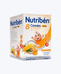 NUTRIBEN 8 CEREALES CON MIEL FIBRA 600G