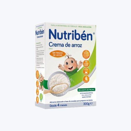 NUTRIBEN INNOVA CREMA DE ARROZ 300 G