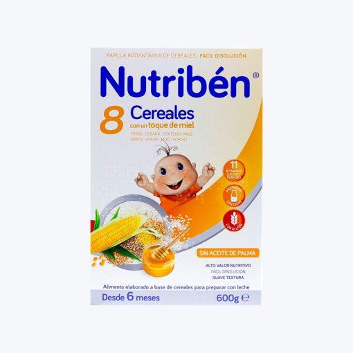 comprar NUTRIBEN PAPILLA 8 CER MIEL CALCIO 600 G