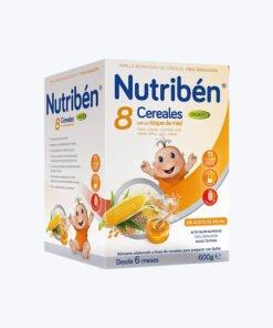 NUTRIBEN PAPILLA 8 CER Y MIEL DIGEST 600 G