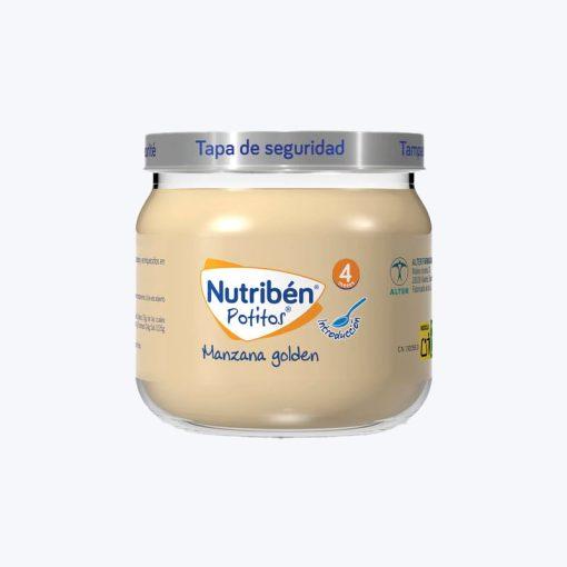 comprar NUTRIBEN POTITO INICIO A LA FRUTA MANZANA GOLDEN 120 G