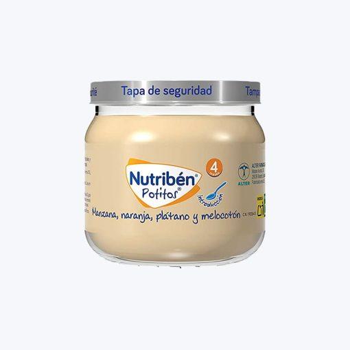 NUTRIBEN POTITO INICIO A LAS MULTIFRUTAS MANZANA 120 G