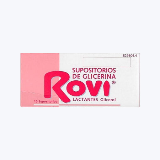 SUPOSITORIOS GLICERINA ROVI LACTANTES 0.672 G 10 SUPOSITORIOS
