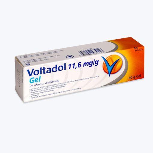 VOLTADOL 11.6 MG/G GEL TOPICO 60 G
