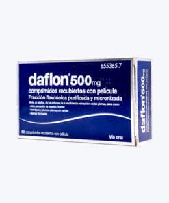 DAFLON 500 500 MG 60 COMPRIMIDOS RECUBIERTOS