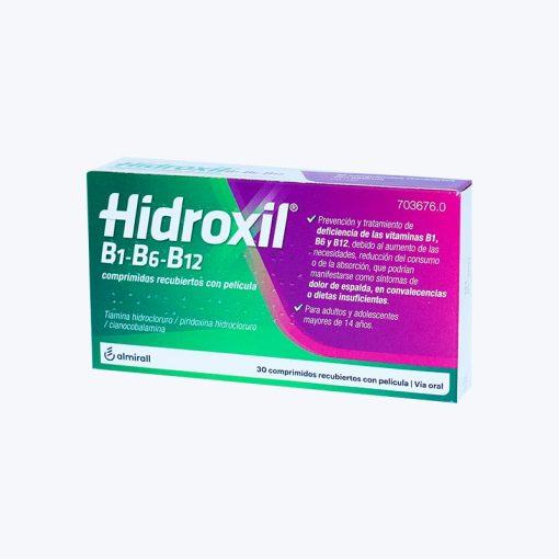 comprar HIDROXIL B1 B6 B12 30 COMPRIMIDOS RECUBIERTOS