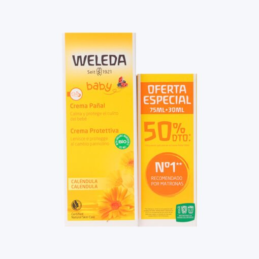 WELEDA PACK PAÑAL 75+30ML