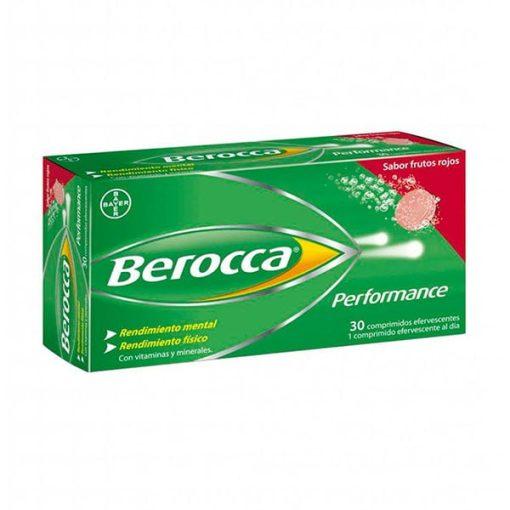 BEROCCA PERFOR FRUTOS ROJOS 30 COMP