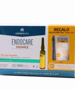 ENDOCARE C OILFREE 2 ML 30 AMPOLLAS+HELIOCARE WATER GEL 15ML