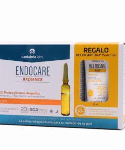ENDOCARE C20 PROTEOGLICANOS ANTIOXIDANT 2 ML 30 AMP + HELIOCARE WATER GEL 15ML