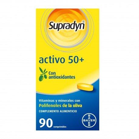 comprar SUPRADYN ACTIVO 50 ANTIOXIDANTES 90 COMPRIMIDOS