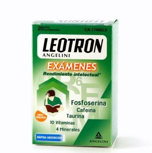 comprar leotron examenes 20 sobres bucodispersables 06098 174062 0000