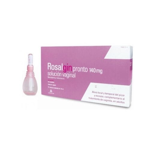 comprar rosalgin pronto 140 mg solucion vaginal 5 unidosis 140 ml