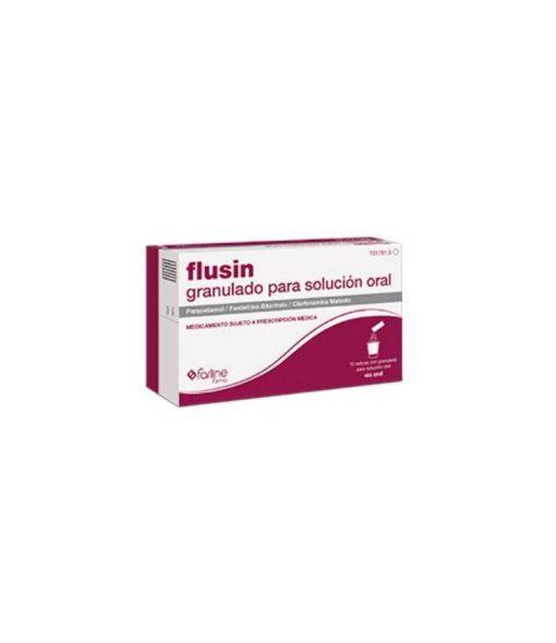 FLUSIN 1000/4/10 MG 10SOBRES GRANULADO
