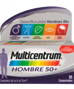 MULTICENTRUM HOMBRE 50+ 90COMP