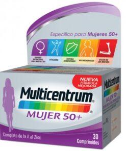 MULTICENTRUM MUJER 50+ 30COMP